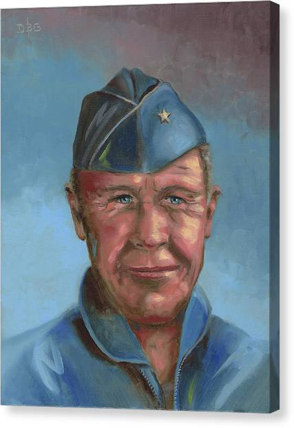 Chuck Yeager Canvas Print