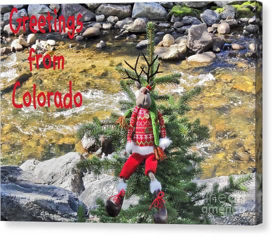 Chumps Christmas Canvas Print