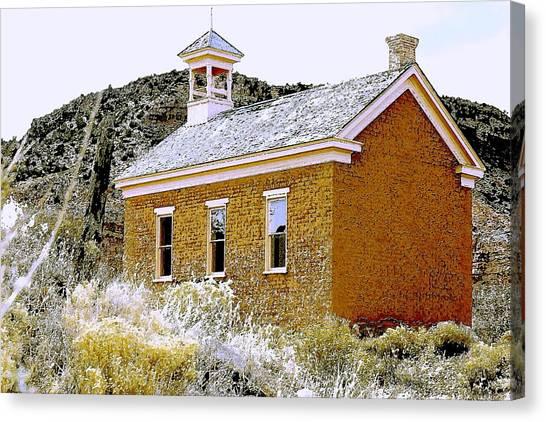 Church - Grafton Utah Canvas Print