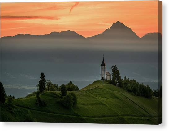 Church Jamnik Canvas Print