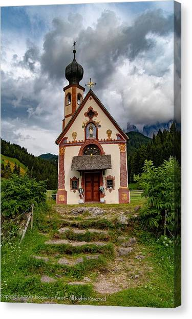 Church Of Saint Johann  Canvas Print