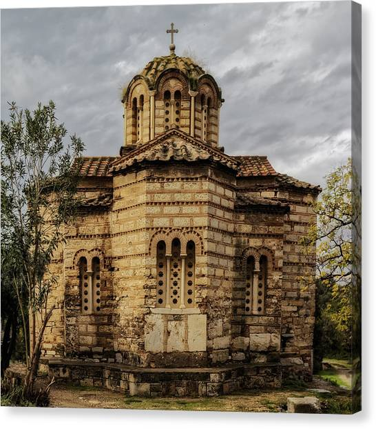 Church Of The Holy Apostles Canvas Print