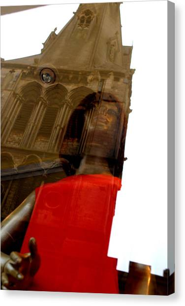 Churched Canvas Print by Jez C Self