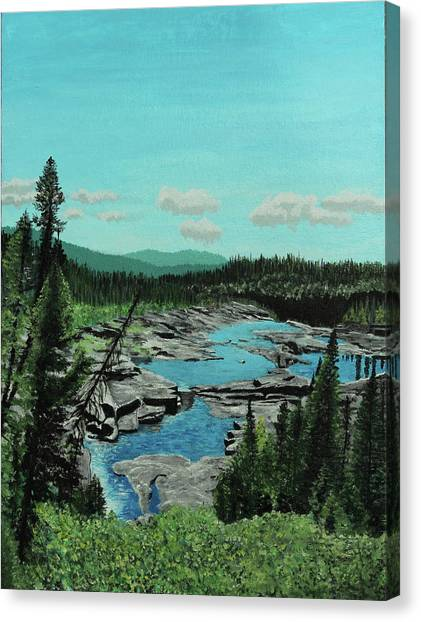 Churchill River Canvas Print