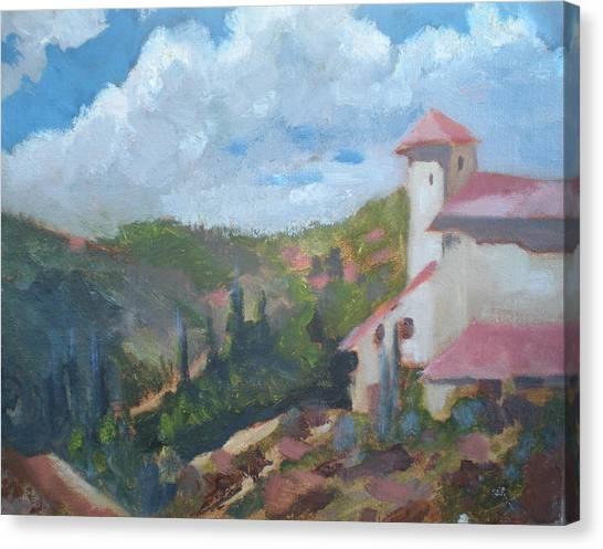 Cielo Villa Canvas Print by Bryan Alexander