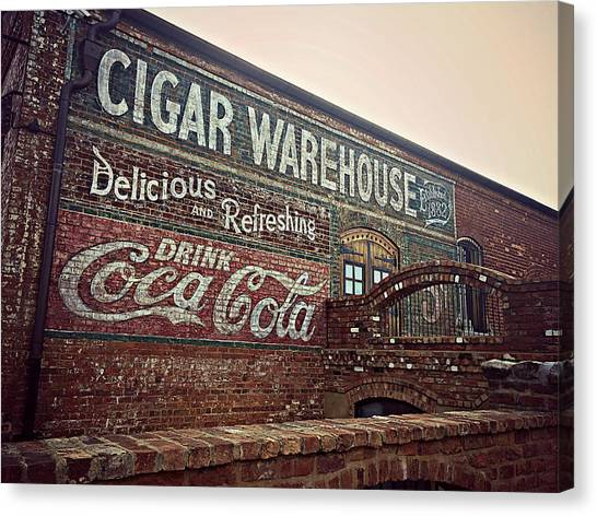 Cigar Warehouse Greenville Sc Canvas Print