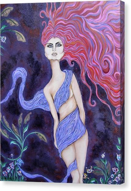 Cimmerian Canvas Print by Samantha Kulchar