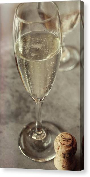 Cin Cin Champagne Therapy Canvas Print by JAMART Photography