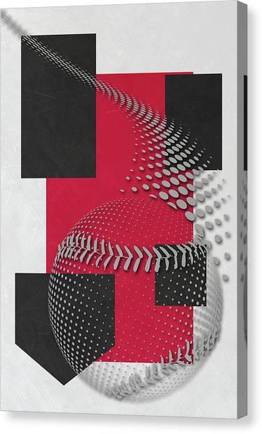 Cincinnati Reds Canvas Print - Cincinnati Reds Art by Joe Hamilton