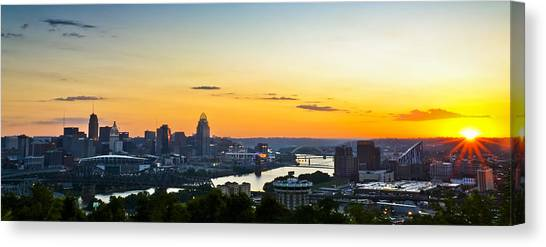 Cincinnati Sunrise II Canvas Print