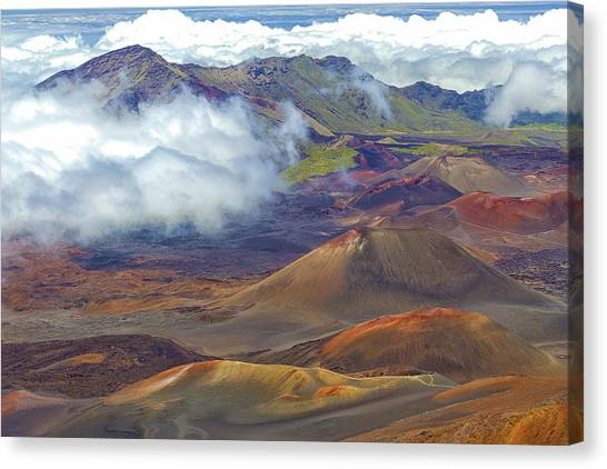 Cinder Cones - Haleakala Canvas Print
