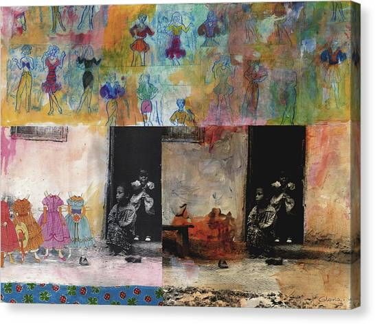 Cinderela Canvas Print