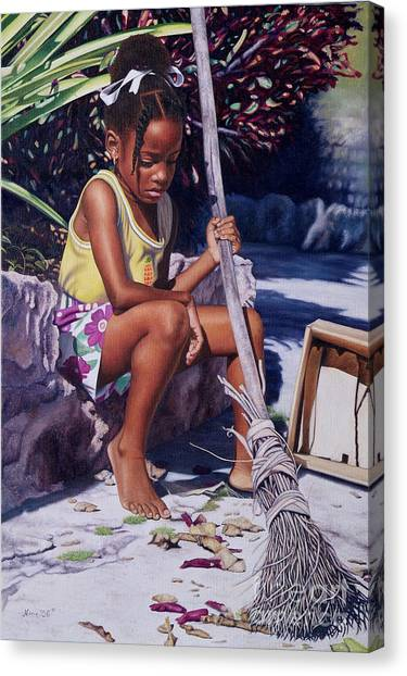 Cinderella II Canvas Print