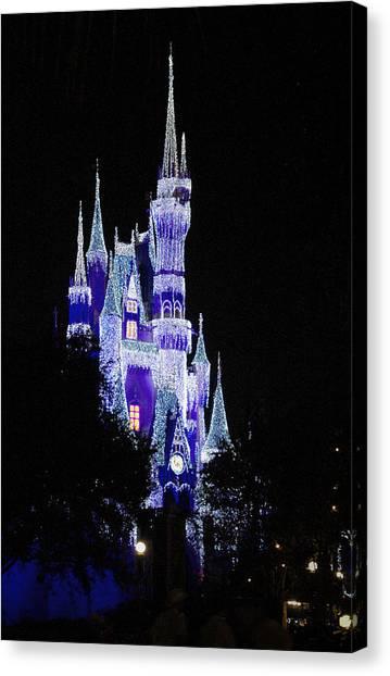 Cinderella's Castle 2 Canvas Print by Frank Mari