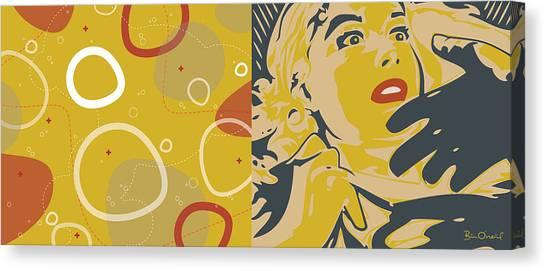 Cinema Fantastique Canvas Print by Bill ONeil