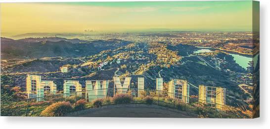 City Sunrises Canvas Print - Cinematic by Az Jackson