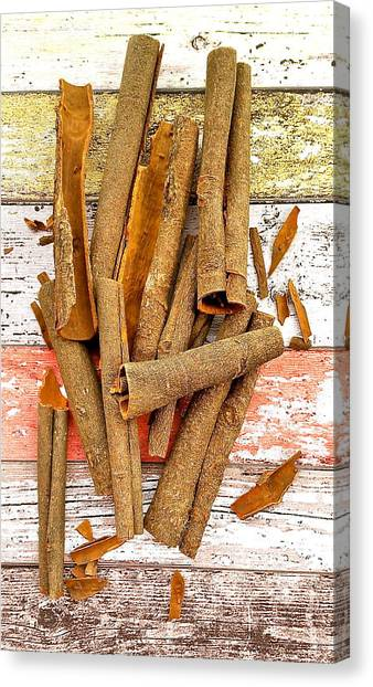 Cinnamon Bark Canvas Print