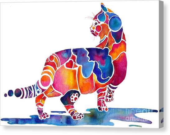 Cinnamon Cat Canvas Print