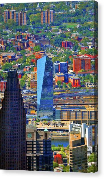 Cira Centre 2929 Arch Street Philadelphia Pennsylvania 19104 Canvas Print