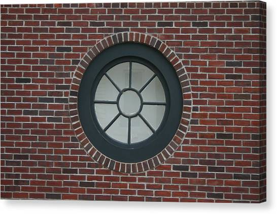 Circle Window Canvas Print by Dennis Curry