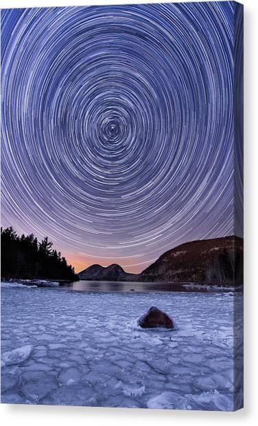 Circles Over Bubbles Canvas Print