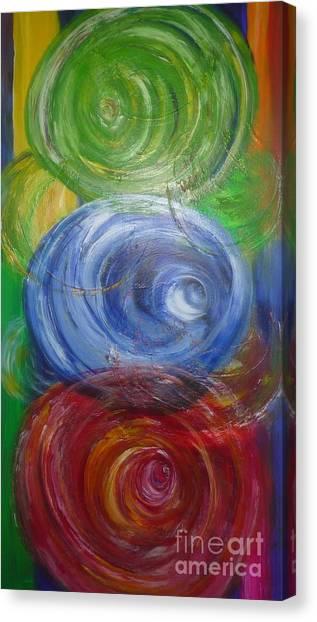 Concentric Joy Canvas Print