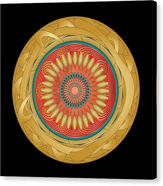 Circularity No 1566 Canvas Print
