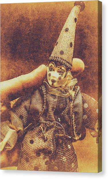 Masquerade Canvas Print - Circus Puppeteer  by Jorgo Photography - Wall Art Gallery
