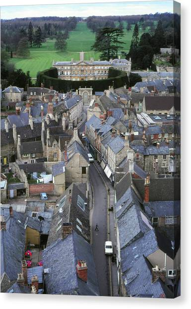 Canvas Print featuring the photograph Cirencester, England by Samuel M Purvis III