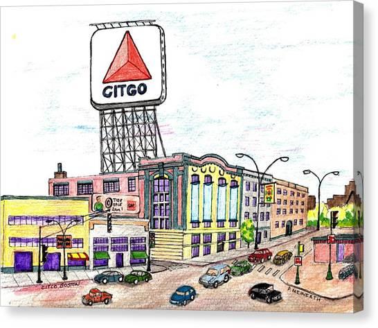 Citco Boston Canvas Print