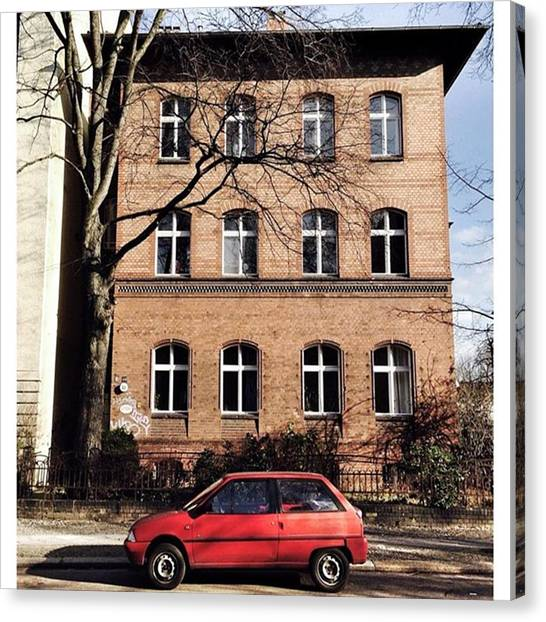 Axes Canvas Print - Citroën Ax  #berlin #friedenau by Berlinspotting BrlnSpttng
