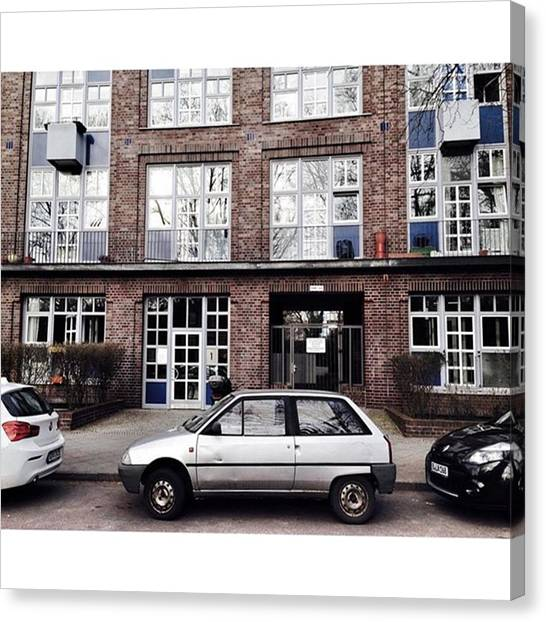 Axes Canvas Print - Citroën Ax  Berlin #kreuzberg by Berlinspotting BrlnSpttng