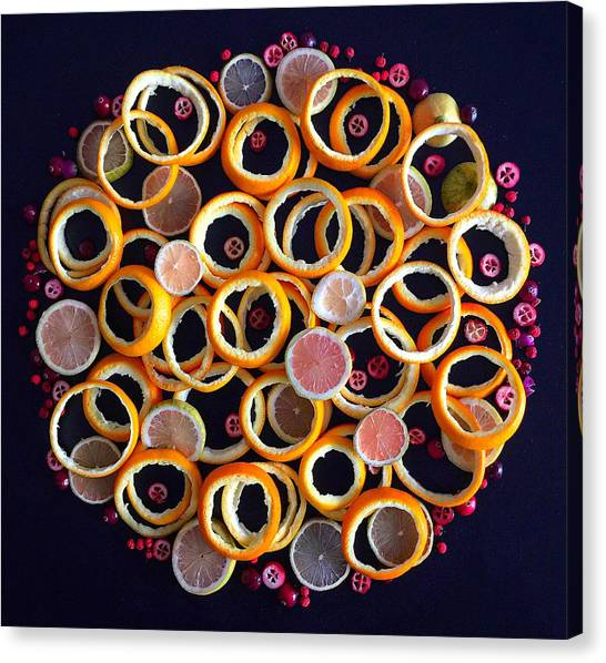Citrus Delight Canvas Print