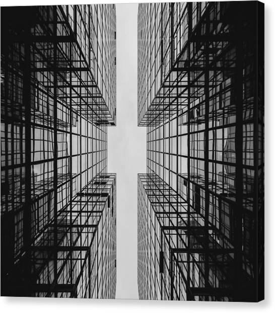 City Buildings Canvas Print
