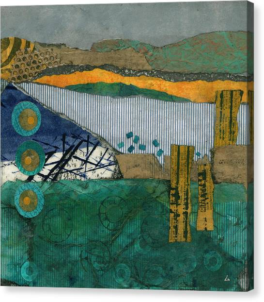 City By The Bay Canvas Print by Cheryl Goodberg