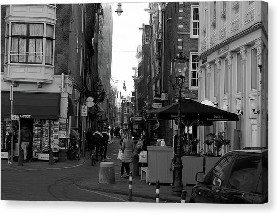 Canvas Print featuring the photograph City Center 1 by Scott Hovind