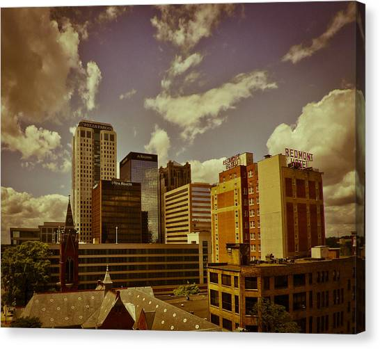 City Center Canvas Print