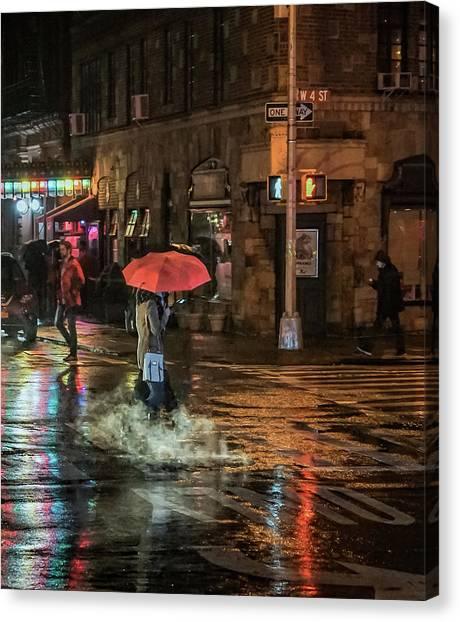 City Colors Canvas Print