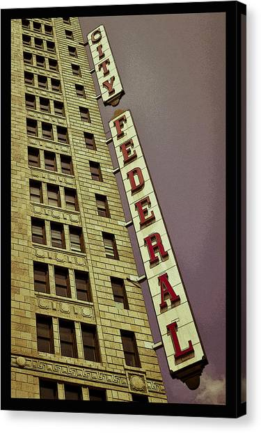 City Federal Poster Canvas Print