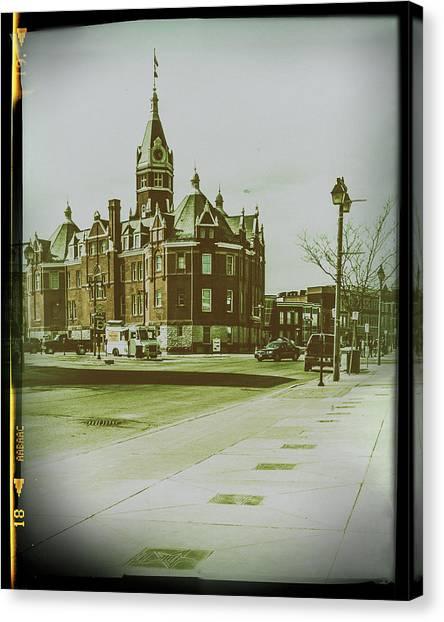 City Hall, Stratford Canvas Print