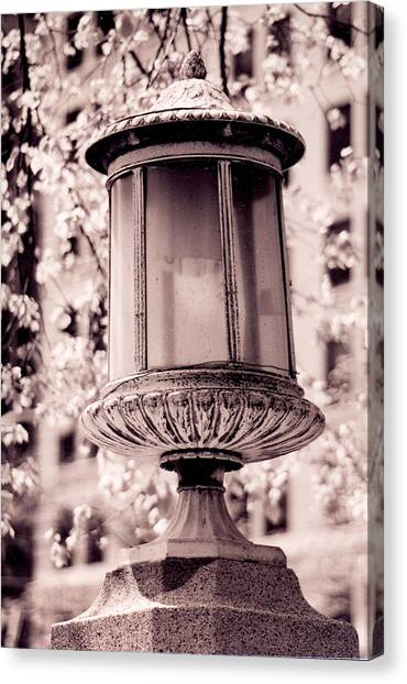 City Lamp Canvas Print
