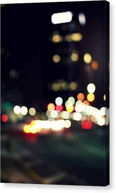 City Lights Canvas Print