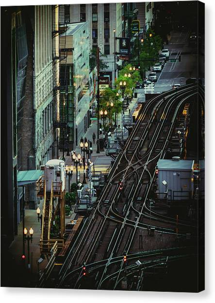 City Lines Canvas Print