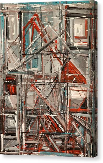 City Canvas Print by Natia Tsiklauri