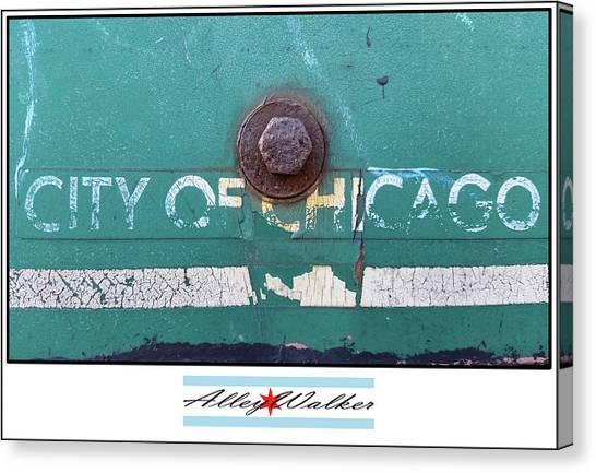 City Of Chi 1 Canvas Print