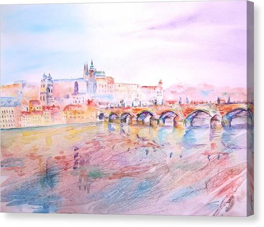 City Of Prague Canvas Print