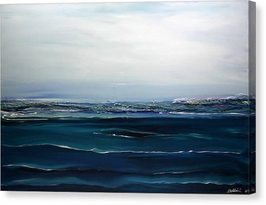 City On The Sea Canvas Print