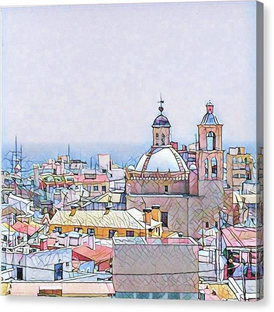 Canvas Print - City Scape by Bitten Kari