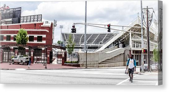 City Stadium Canvas Print