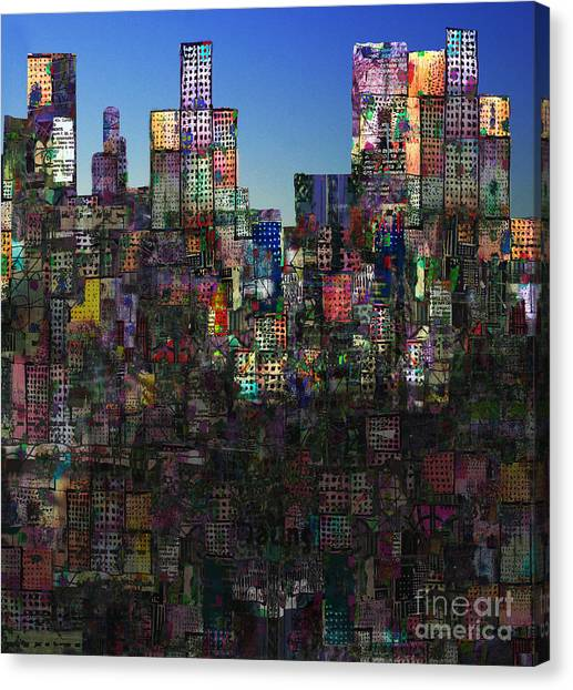 City Sunrises Canvas Print - City Sunrise 8 by Andy  Mercer